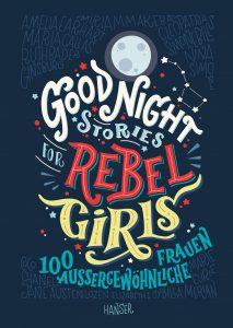 Good Night Stories for Rebel Girls von Elena Favilli und Francesca - CavalloIn diesem Buch werden die inspirierenden Geschichten von 100 großartigen Frauen kurz und knackig neu erzählt, mit Illustrationen von 60 Künstlerinnen aus aller Welt – für alle kleinen und großen Schmöker:innen.